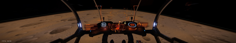 Kurz vor dem Drop in den Orbital Cruise