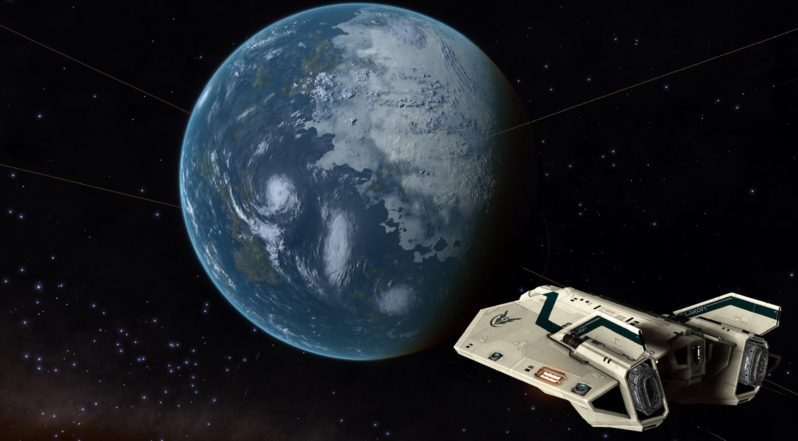 ein erdähnlicher Planet