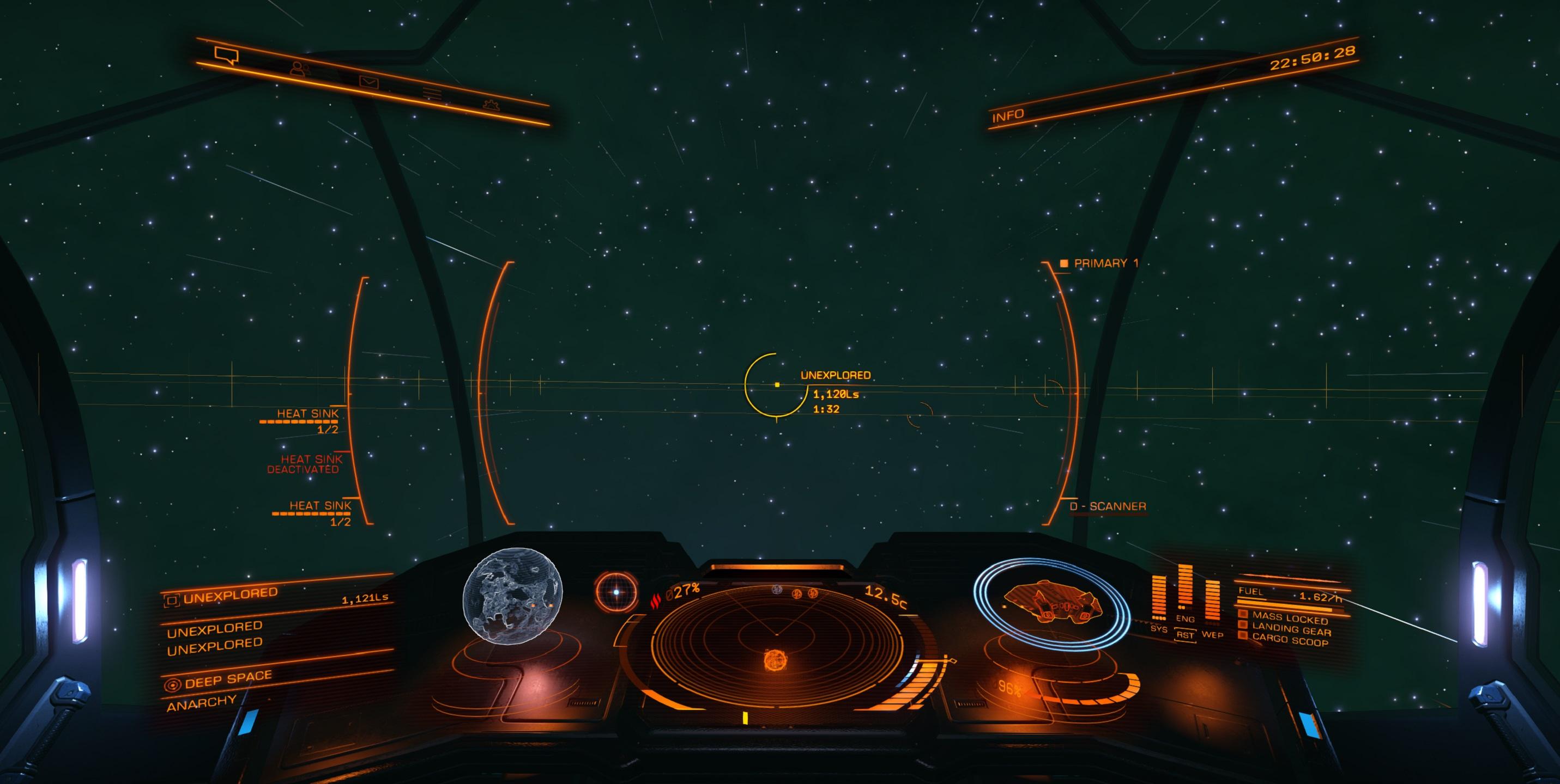 Smaragd Cockpit
