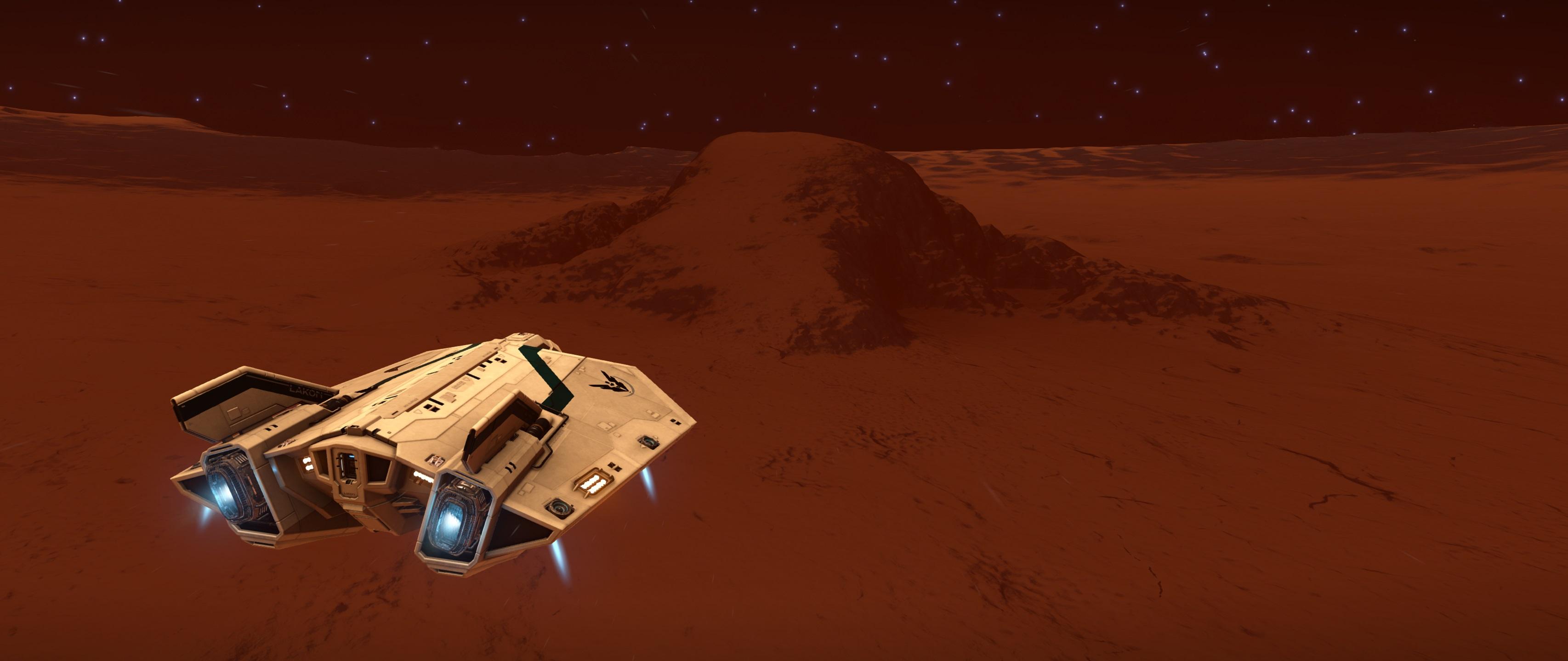 ein Berg mitten im Krater, sah erst so klein aus, aber dann