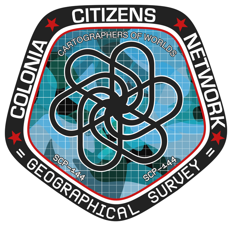 Badge der lokalen Karthografieeinheit